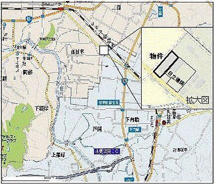 店舗事務所(建物全部)-木更津市真里 地図