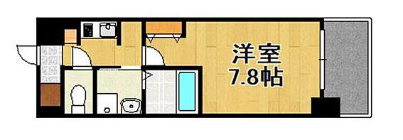 マンション(建物一部)-大阪市港区田中2丁目 間取り