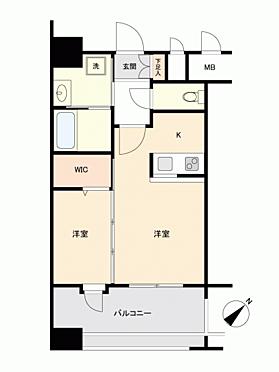 マンション(建物一部)-福岡市博多区博多駅東3丁目 間取り