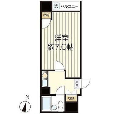 マンション(建物一部)-文京区目白台3丁目 間取り