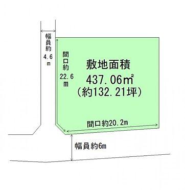 土地-名取市名取が丘2丁目 区画図