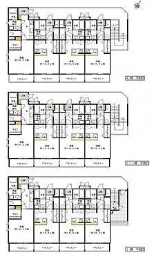 マンション(建物全部)-静岡市駿河区中田2丁目 間取り