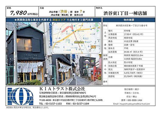 店舗・事務所・その他-渋谷区東1丁目 その他