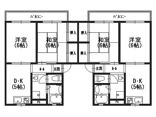 アパート-木津川市相楽台6丁目 間取り