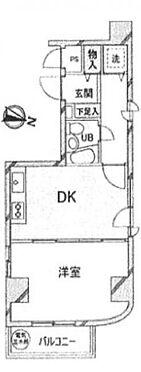 マンション(建物一部)-北区中里1丁目 間取り
