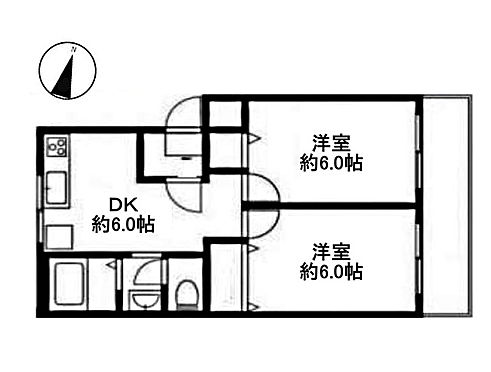中古マンション-小金井市本町2丁目 間取り