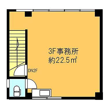 店舗事務所(建物全部)-横浜市鶴見区鶴見中央3丁目 3階 登記面積 27.00平米