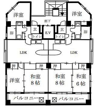 マンション(建物全部)-名古屋市名東区極楽3丁目 間取り