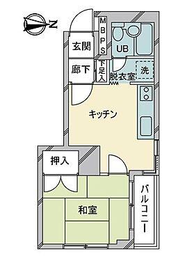 中古マンション-目黒区駒場4丁目 間取り