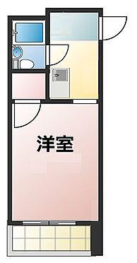 マンション(建物一部)-大阪市東淀川区東中島1丁目 ひとり暮らしには使い勝手の良い間取り。