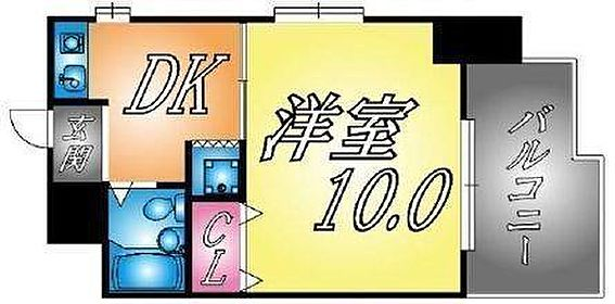 マンション(建物一部)-神戸市兵庫区大開通5丁目 広々としたバルコニー