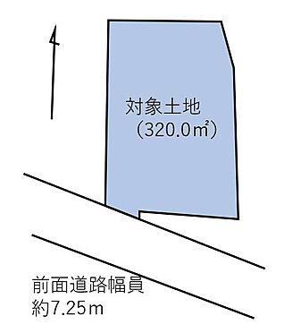 土地-福岡市西区戸切2丁目 区画図です☆