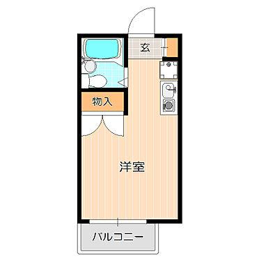 アパート-横浜市神奈川区白幡仲町 梁のない使いやすい間取り。