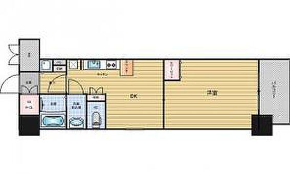 区分マンション-大阪市中央区南船場1丁目 図面より現況を優先します。