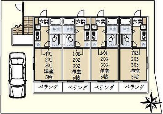 マンション(建物全部)-川崎市多摩区登戸 間取り