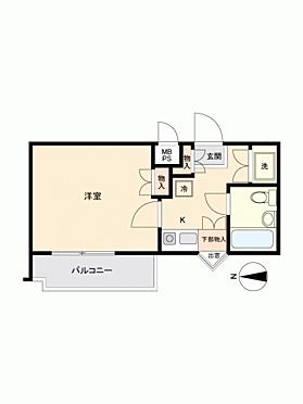 マンション(建物一部)-横浜市緑区中山6丁目 間取り