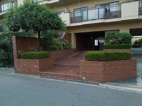 マンション(建物一部)-大阪市阿倍野区阿倍野元町 レンガ調のエントランス