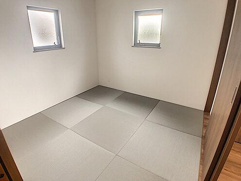 戸建賃貸-小牧市堀の内4丁目 琉球畳がおしゃれな和室