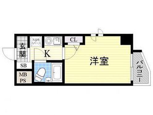 マンション(建物一部)-大阪市淀川区塚本4丁目 水まわりがまとめられ、動線を考慮された間取り