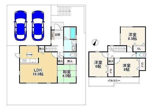 新築一戸建て-神戸市北区小倉台6丁目 間取り