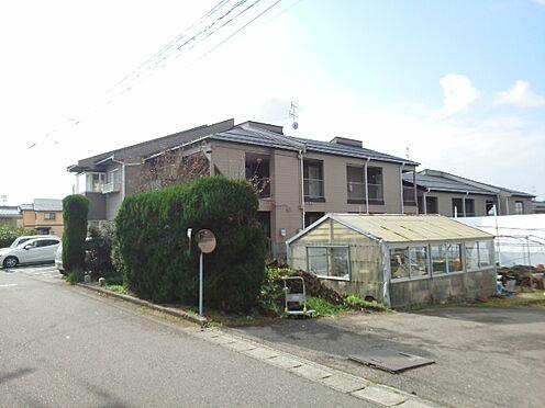 アパート-新潟市西区善久 B棟の外観