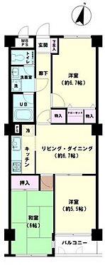 マンション(建物一部)-横浜市南区別所7丁目 間取り