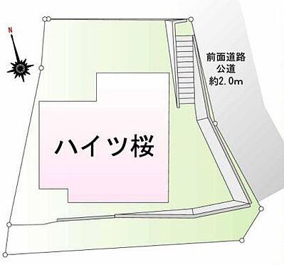 アパート-川崎市多摩区西生田3丁目 間取り