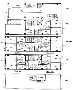 ビル(建物全部)-相模原市中央区相模原2丁目 店舗3、住戸22戸 現在満室稼働中(令和元年10月現在)