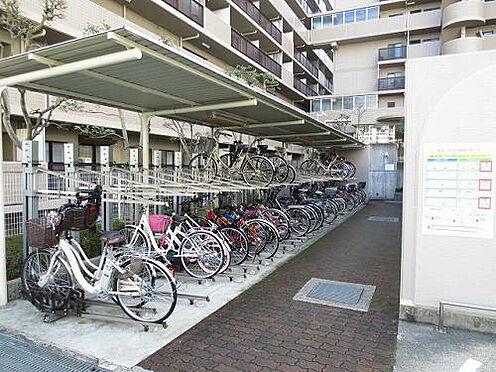 マンション(建物一部)-神戸市長田区林山町 雨を凌ぐ屋根付き駐輪場