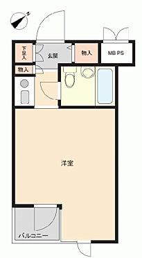 マンション(建物一部)-ふじみ野市福岡中央1丁目 間取り