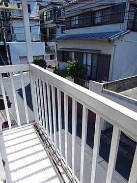アパート-横須賀市久里浜3丁目 日当たり良好な南向きのバルコニー