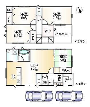 新築一戸建て-神戸市垂水区学が丘1丁目 間取り