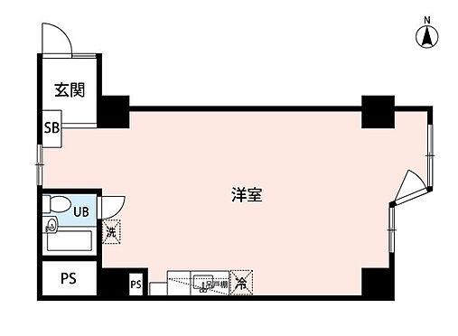 区分マンション-札幌市中央区南九条西3丁目 間取り