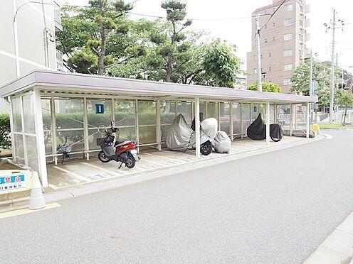 中古マンション-千葉市美浜区高洲3丁目 敷地内バイク置場です!