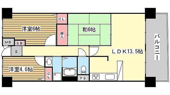 マンション(建物一部)-神戸市垂水区塩屋町 南東向きの明るさが魅力