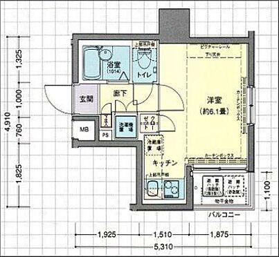 マンション(建物一部)-中央区日本橋浜町3丁目 間取り