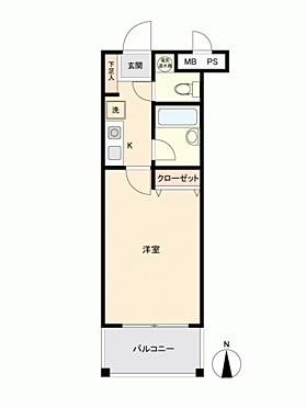 中古マンション-金沢市横川 間取り
