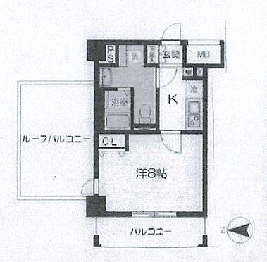 マンション(建物一部)-八王子市西片倉3丁目 間取り図