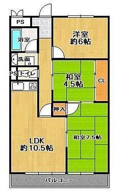 マンション(建物一部)-大阪市住吉区殿辻1丁目 間取り