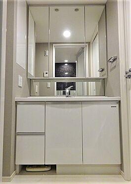 中古マンション-江東区有明2丁目 三面鏡付洗面化粧台
