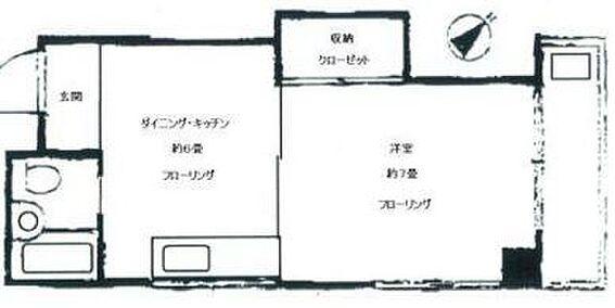マンション(建物一部)-港区赤坂8丁目 間取り