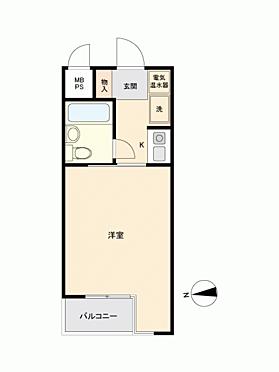 マンション(建物一部)-横浜市戸塚区上倉田町 間取り