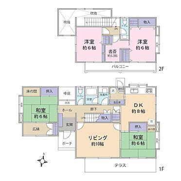 戸建賃貸-横須賀市鶴が丘1丁目 4LDK(建物面積:119.22m2)