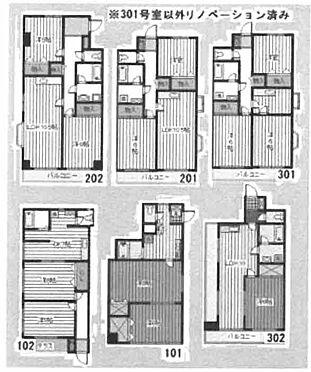 マンション(建物全部)-さいたま市南区松本4丁目 間取り