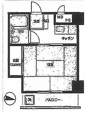 マンション(建物一部)-文京区水道1丁目 間取り