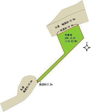 土地-熱海市泉元宮上分 区画図