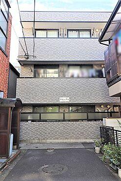 アパート-練馬区桜台4丁目 東側外観写真。