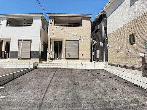 新築一戸建て-名古屋市天白区保呂町 優しいブラウンを基調とした外観♪