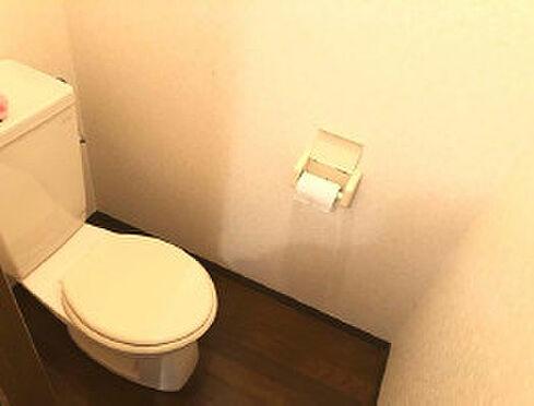 アパート-鹿児島市石谷町 清潔感のあるトイレです