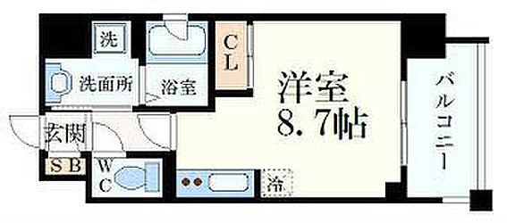 マンション(建物一部)-神戸市兵庫区塚本通7丁目 間取り